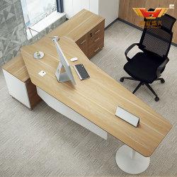 Le gestionnaire de bureau exécutif de la flamme de métal Table (H85-0180)