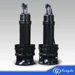Pompa ad acqua centrifuga non d'ostruzione elettrica delle acque luride di drenaggio della miscela dei residui assiali sommergibili di flusso