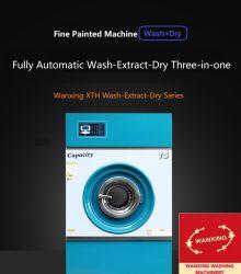 Rondella-Estrattore multifunzionale verniciato completamente automatico ed essiccatore di 15kg Commerical per il negozio della lavanderia (XTH)