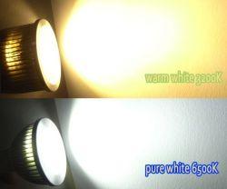 220V van de LEIDENE van Dimmable 5W Lichte LEIDENE Vlek van COB/LED GU10 Bol