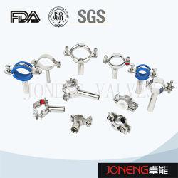 La Chine Tuyau en acier inoxydable de qualité hygiénique titulaire / Attache de tuyau (JN-FL2010)
