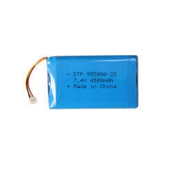 955080 2s 7.4V 4500mAh 33.3wh Batterie rechargeable lithium-ion polymère pour radio bidirectionnelle