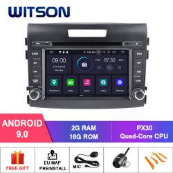 Четырехъядерные процессоры Witson Android 9.0 DVD GPS для новой Honda Cr-V 2012 встроенным DAB+ функция