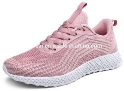 Nieuw Ontwerp de Schoenen van de Tennisschoen van de Marathon van Dame Flyknit Gym Sports Running het Lopen (0520)