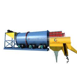 Strumentazione ampiamente usata di estrazione dell'oro dell'impianto di lavaggio del crivello a tamburo elaborare minerale
