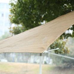 100% Nuevo Material PE Car sombra Net velas Piscina cubriendo Net
