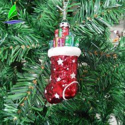 2019 El año Cristal Ornamento de Navidad Christmas Stocking, colgando el dispositivo de llenado de temática de regalo - Ready-Made bienes de 230 piezas