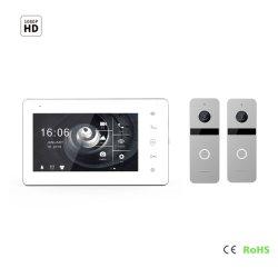 7 pouces écran IPS HD Interphone vidéo sonnette Doorphone Home sécurité