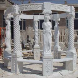 백색 대리석 돌 동상 정원 전망대 (GSGZ-209)