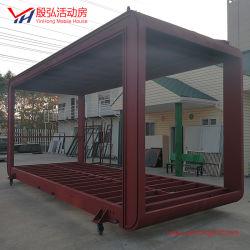 Estructura de acero portátil Popular Caravana prefabricados