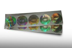 La qualità superiore 2019 ha personalizzato il contrassegno dell'ologramma, l'autoadesivo dell'ologramma del laser 2D/3D, autoadesivo dell'ologramma di colore completo
