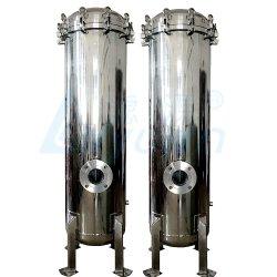 40 Edelstahl-Gehäuse-Filter-industrielle Flüssigkeit des Zoll-Wasser-Filtergehäuse-SS304 316L