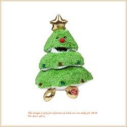 크리스마스 나무 견면 벨벳 휴일 장식 Chiristmas 선물