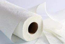 Alta qualidade virgem toalha de papel Rolo de tecido para cozinha