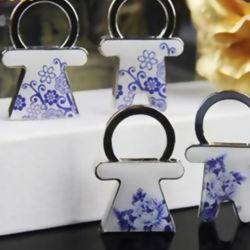 Catena chiave della vernice d'imitazione della porcellana di alta qualità di promozione (YB-HR-24)