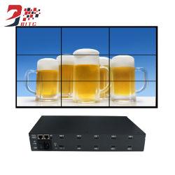 El procesador de pared de vídeo 1X9 Soporte de vídeo 1080p de resolución de 180 grados de rotación