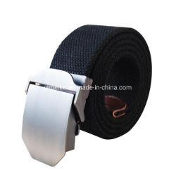 La Chine usine OEM Boucle durables classique hommes occasionnel de la courroie de tissu de toile