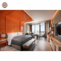 호텔 침실 룸 가구이라고 상표가 붙는 현대 가벼운 목제 색깔