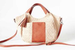 2019 Form-heiße Verkaufs-Großverkauf-Sommer-Stroh-Handtasche