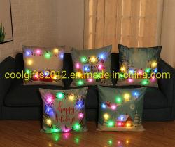 Heller Kissen-Deckel der förderndes Geschenk-heißer verkaufenweihnachtsgeschenk-neuer Entwurfs-LED