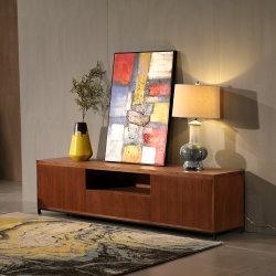 أثاث لازم حديثة بيتيّ [مدف] خشبيّة يعيش غرفة تلفزيون وحدة طرفيّة للتحكّم/تلفزيون مقادة/تلفزيون طاولة