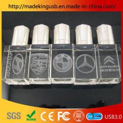 USB Crystal عالي الجودة وبسعر جيد محرك أقراص USB بذاكرة فلاش