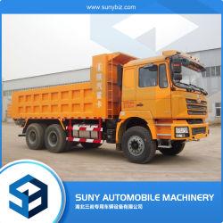 شاحنة تفريغ سعة 35 طن متري شاحنة Shacman 6X4 بقدرة 340 حصاناً