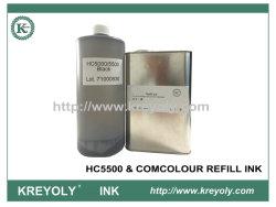 Залейте COM с цветными чернилами совместимых чернил для HC5500 & COMCOLOR черного цвета