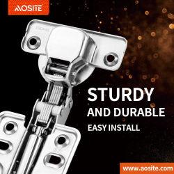 Cerniera attenuante idraulica inseparabile del hardware dell'armadio da cucina A01