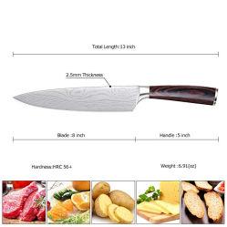 Venda por grosso de Aço Inoxidável barata frutas vegetais da faca de cozinha