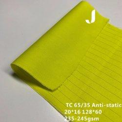 Prodotto antistatico intessuto del cotone Poly/35 della caratteristica 65 per industria speciale