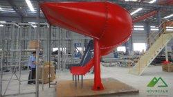 Spirale Labor-Saving goulotte en acier au carbone pour les grandes parcelles & Bags