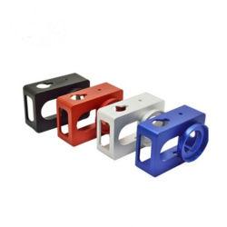 Parti di alluminio di giro di macinazione lavoranti della macchina fotografica dei pezzi di ricambio di CNC di precisione su ordine per le parti della macchina fotografica del telefono delle cellule di foro di spillo