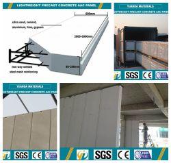 Prefab House Use AAC Produtos prefabricados de betão para montagem na parede, piso