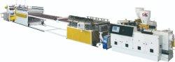 Het plastic Blad van het Schuim van pvc WPC Vrije De Uitdrijving die van de Raad van de keukenkast tot Machine maken Plastic Extruder