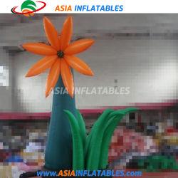 イベントのために昇進の膨脹可能な花モデルを広告する熱い販売