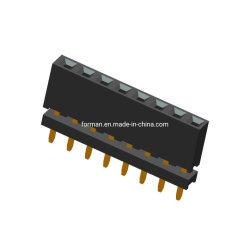 두 개의 Lay 2 Row DIP Type Female Header SMT/SMD Type Pin Connector