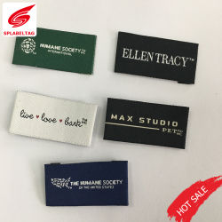 Gepersonaliseerde Design Write Name Knitting Stitched Labels