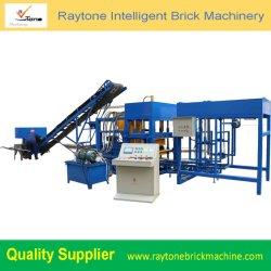 Qt4-18 de concreto totalmente automática máquina de ladrillos huecos de moldeo la pavimentación de máquina bloquera