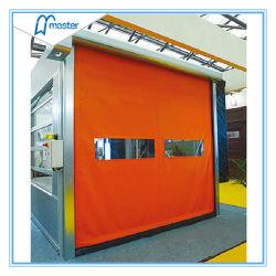 Fermeture à glissière en PVC haute vitesse à bon marché Ware Portes de la chambre