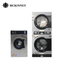 Industria a gettoni personalizzata automatica completa della lavanderia del self-service dell'acciaio inossidabile/macchina di lavaggio industriale di pulizia utilizzata per l'annuncio pubblicitario