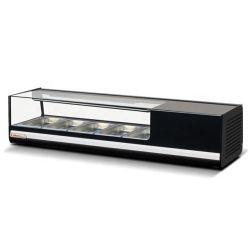 1200mm 초밥 진열장 45L 초밥은 반대 냉각 장비 냉장고를 디스플레이한다