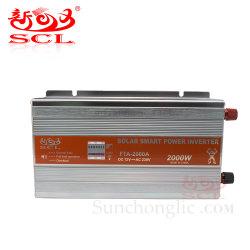 Omschakelaar 2kw gelijkstroom van de ZonneMacht van Sunchonglic de Slimme aan AC 12V 220V 2000W Inversor