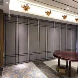 Bens móveis à prova de som isolamento acústico manual operável paredes divisórias para restaurantes