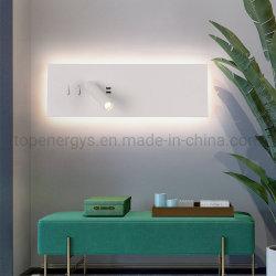 LED lámpara de noche Lila cargador USB nueva y moderna iluminación de noche romántica para el hogar desván cama de la cabeza de la iluminación de Art Decó