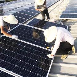 200W 250W 300W 태양 가정 전원 시스템 많은 단청 세포 위원회