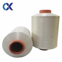 Flame Resistant DTY 150/48 de fils de polyester blanc brut Pattern