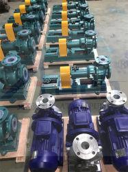 Résistance à la corrosion et usure de la pompe de résistance pour le traitement des lixiviats de décharge Ihf40-25-125