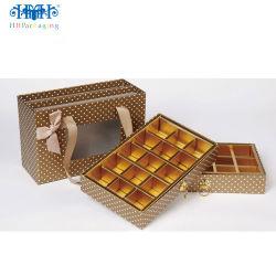 민감한 전시 장식용 초코렛 패킹 선물 포장 종이상자 또는 부대
