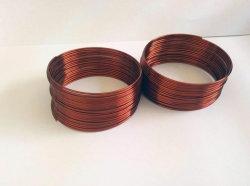 La bobina de cable de cobre de la primavera